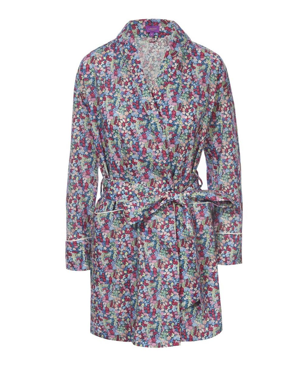 Emily Jane Short Cotton Robe