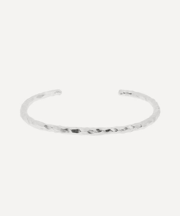 Fat Snake Carved 925 Silver Bracelet