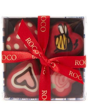 Hand Painted Baby Hearts Chocolate Box 60g