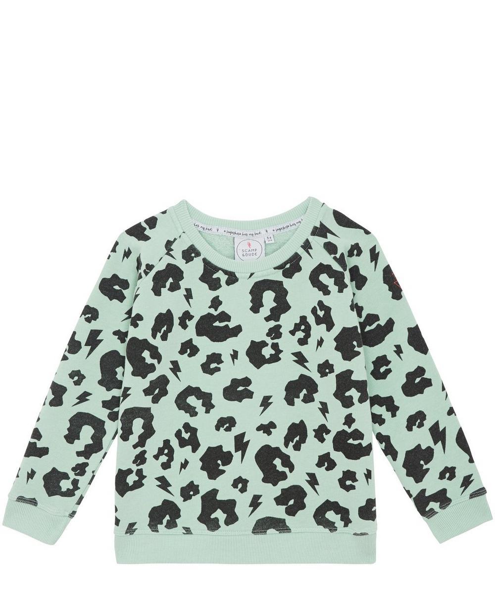 Leopard Print Super Soft Sweatshirt 2-8 Years