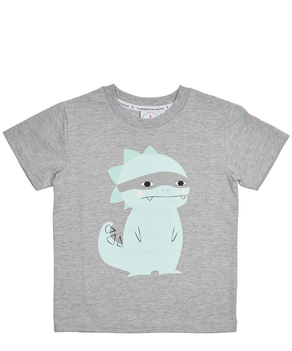 Super Dino Marl T-Shirt 1-8 Years