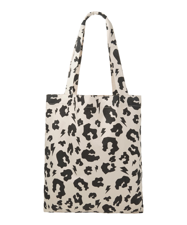34b6032d69cb Leopard Print Canvas Tote Bag