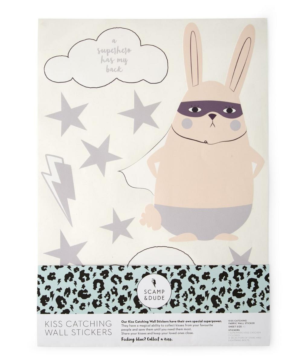 Super Bunny Wall Sticker