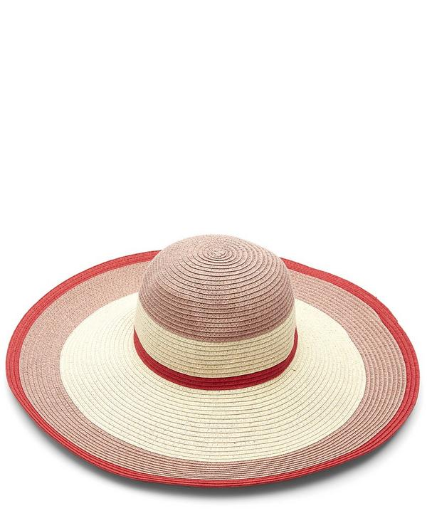 Wide-Brimmed Woven Sun Hat