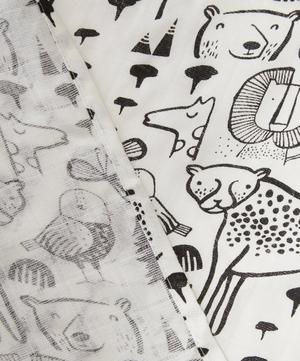 Organic Wild Animal Print Swaddle