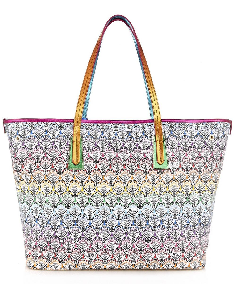 Marlborough Tote Bag in Rainbow Canvas