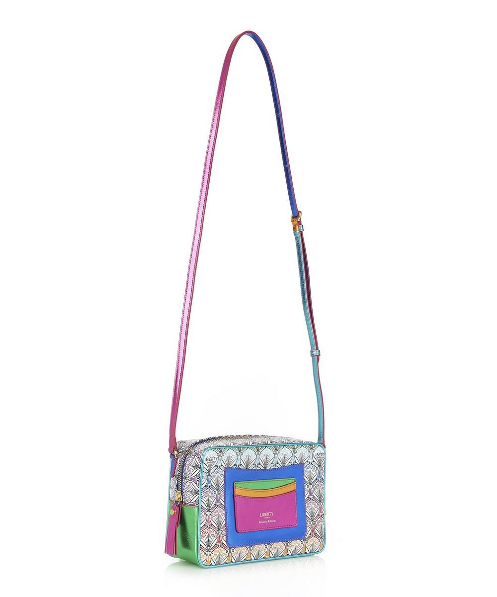 Maddox Cross Body Bag in Rainbow Canvas