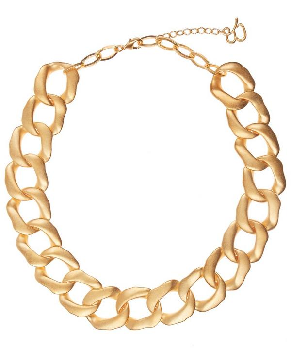 Gold-Plated Anelli Chain Necklace