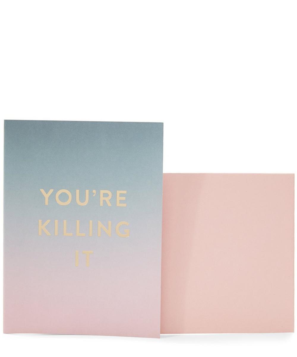 Fold-Over Good Vibes Greeting Card Set