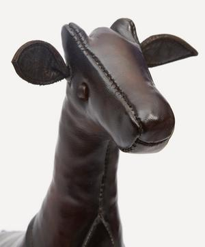 Miniature Leather Giraffe