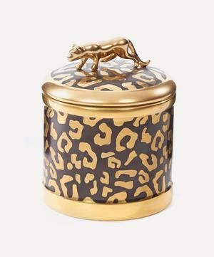 Leopard Candle