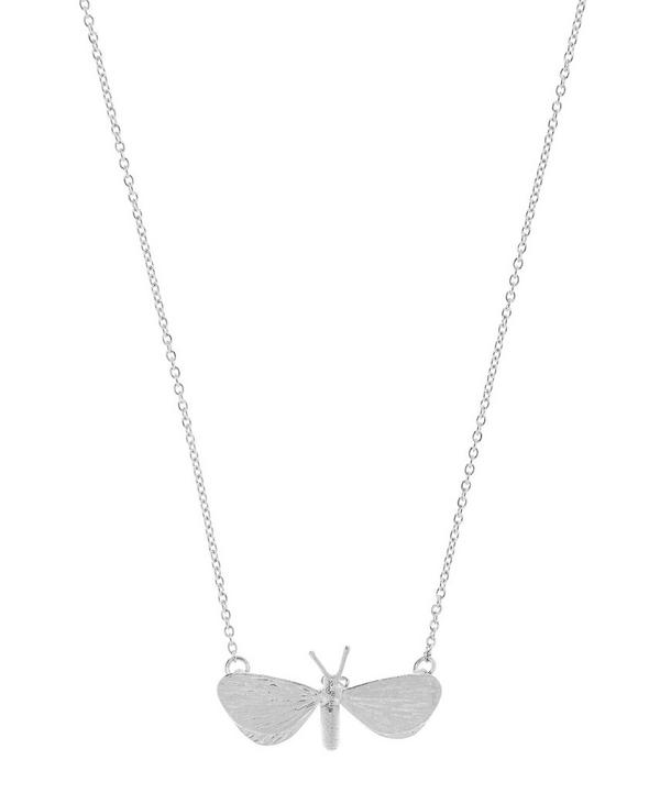 Drab Looper Moth Necklace