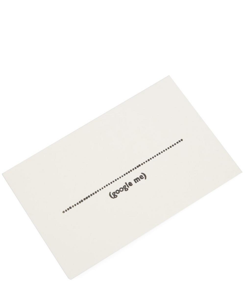 Fill in the blank business cards liberty london fill in the blank business cards reheart Gallery