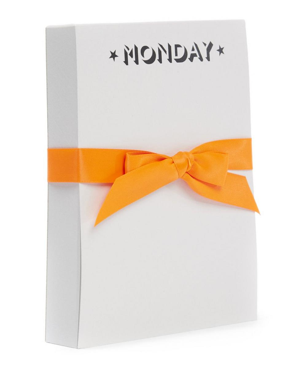Days Of The Week Notepad
