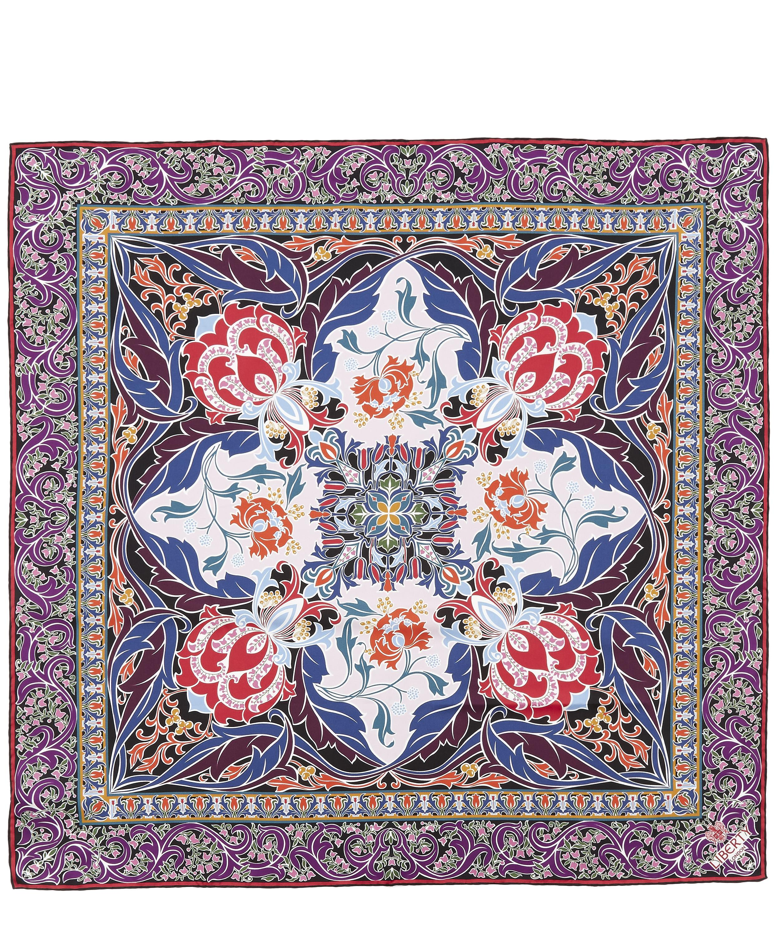 Albany 90 X 90 Silk Twill Scarf Liberty London