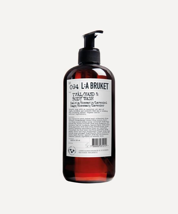 L:A Bruket - Sage Rosemary Lavender Body Wash 450ml