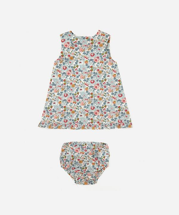 Liberty - Betsy Wrap Dress and Bloomers 3 Months-3 Years