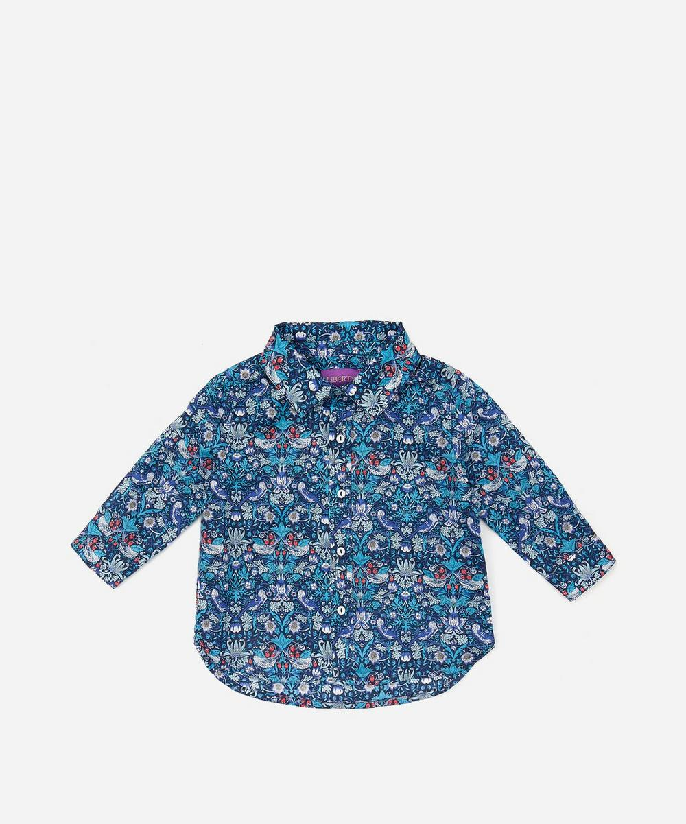 Strawberry Thief Boys Tana Lawn Cotton Shirt 3-24 Months