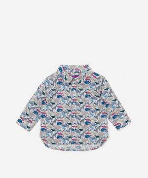 Queue For The Zoo Long Sleeved Shirt 3-24 Months