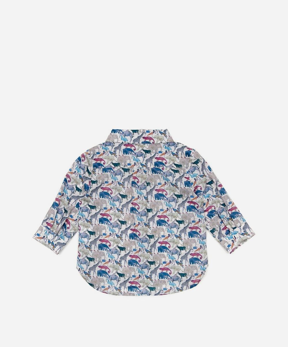 Queue For The Zoo Tana Lawn Cotton Shirt 3-24 Months