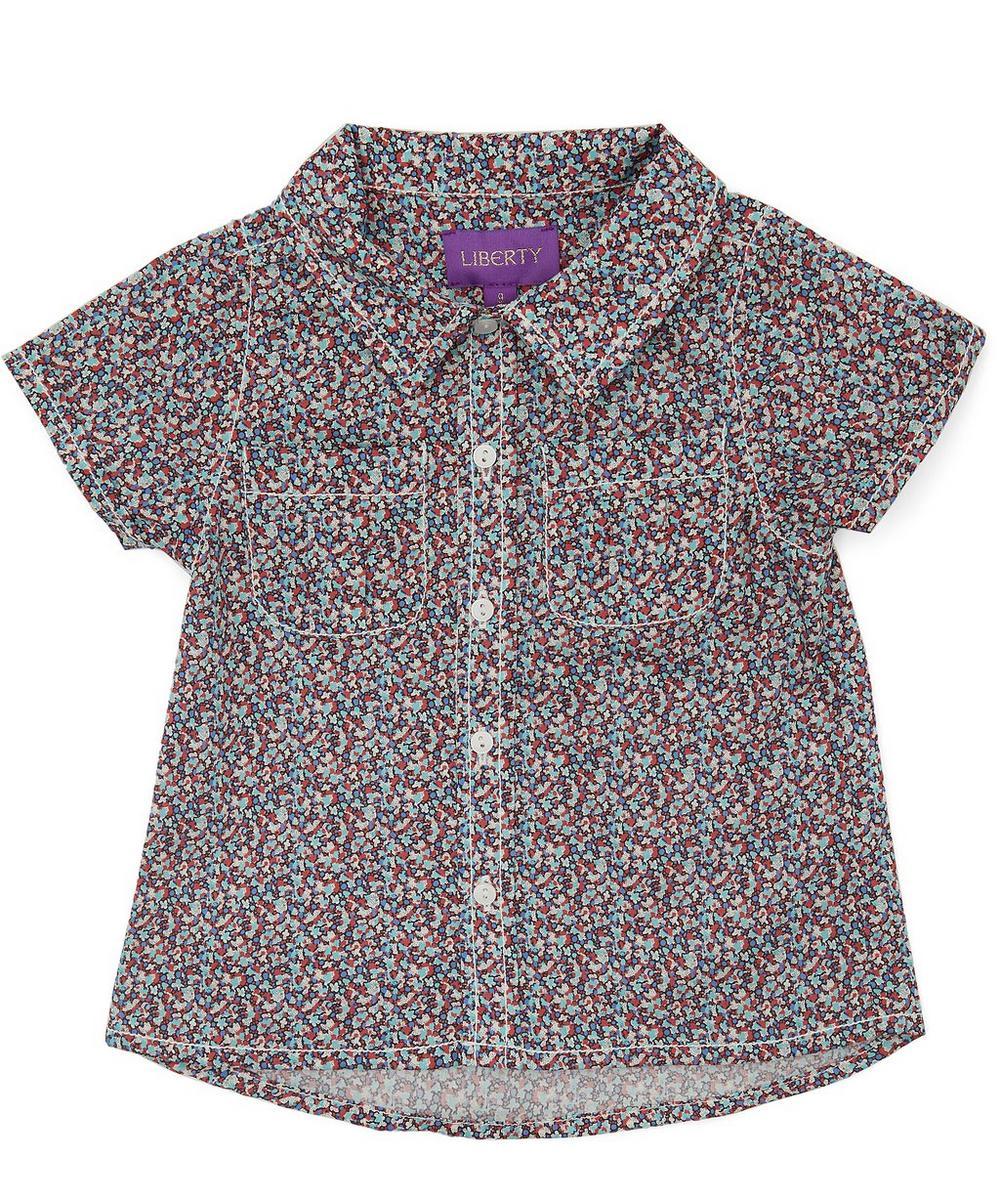 Pepper Short Sleeve Tana Lawn Cotton Shirt 3-24 Months
