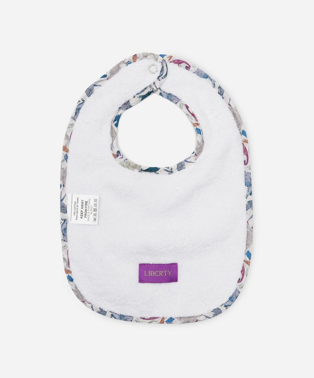 Queue For The Zoo Tana Lawn™ Cotton Bib