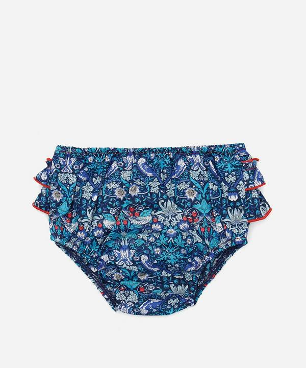 Strawberry Tana Lawn Cotton Thief Bloomers 3 Months - 3 Years