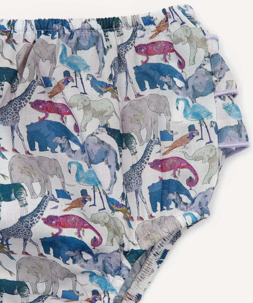 Queue For The Zoo Tana Lawn™ Cotton Bloomers 3 Months - 3 Years