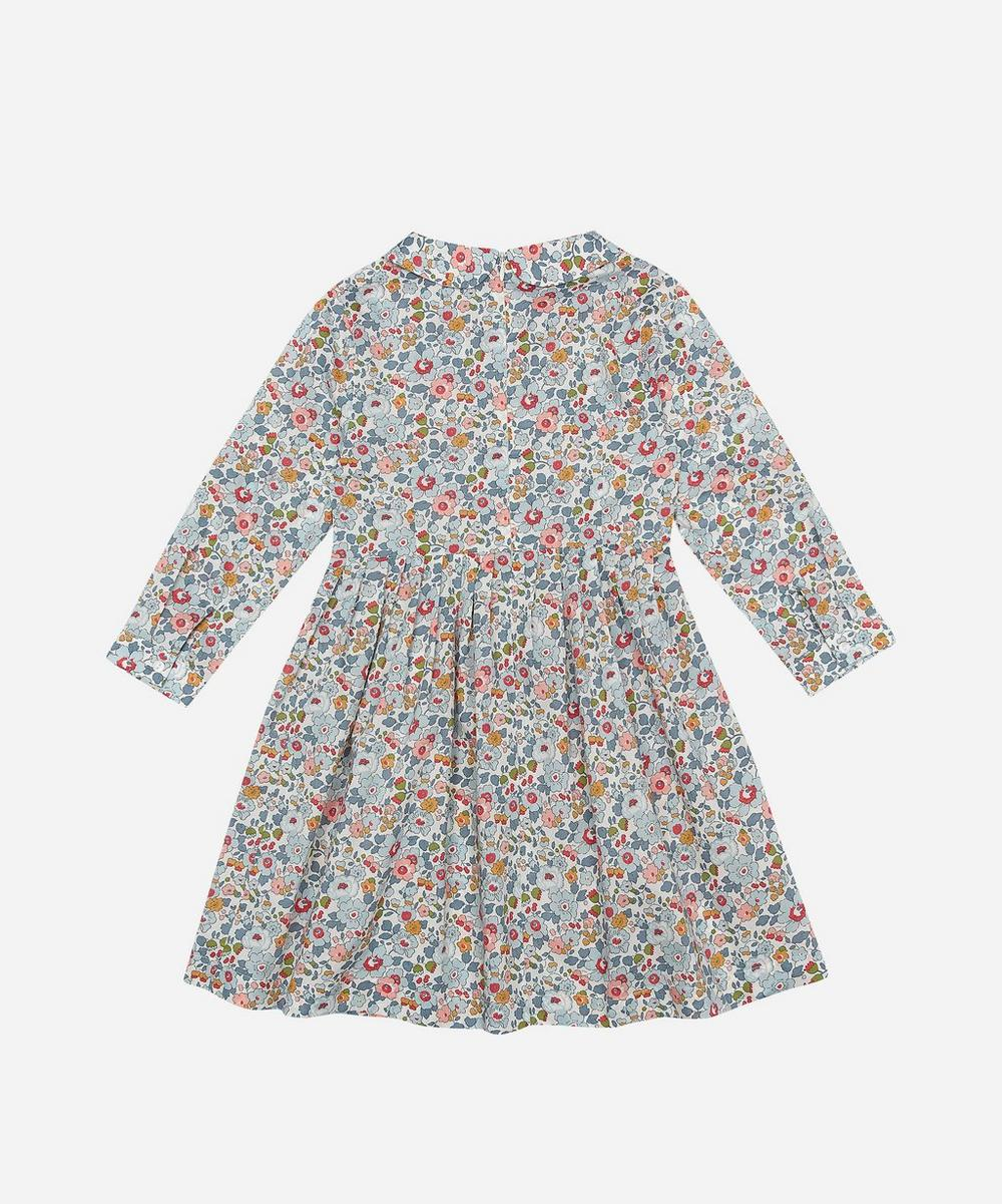 Betsy Long-Sleeve Tana Lawn Cotton Dress 2-10 Years