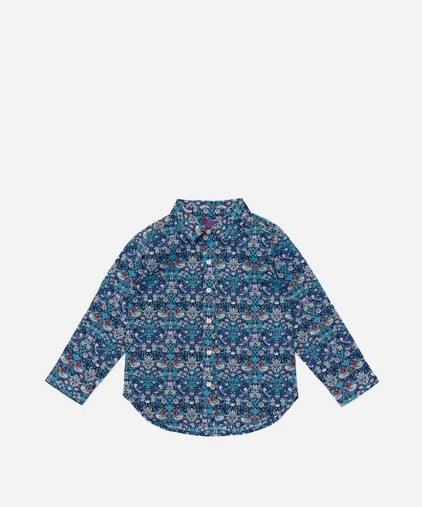Liberty - Strawberry Thief Long Sleeved Shirt 2-10 Years