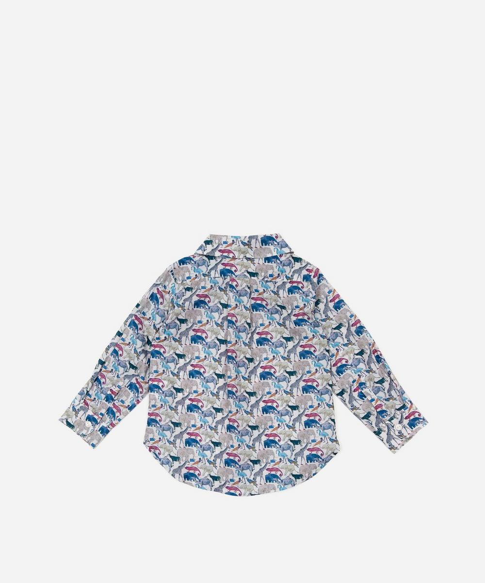 Queue For The Zoo Tana Lawn™ Cotton Long Sleeve Shirt 2-10 Years