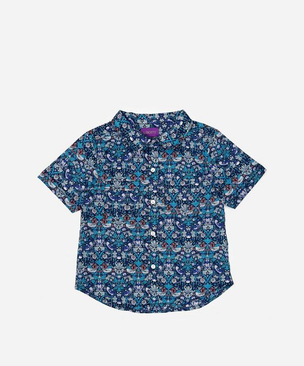 Liberty - Strawberry Thief Short Sleeved Shirt 2-10 Years