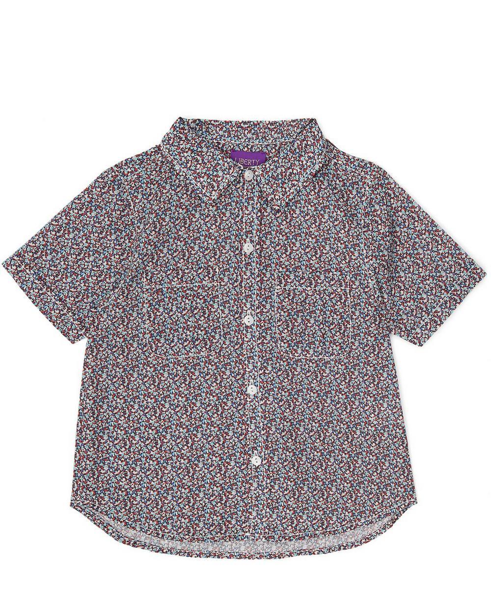 Pepper Tana Lawn Cotton Short-Sleeve Shirt 2-6 Years
