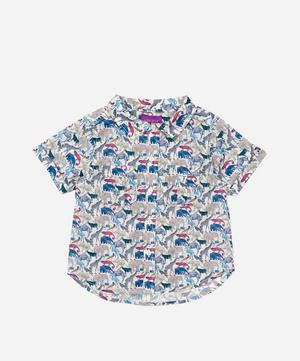 Queue For The Zoo Short Sleeved Shirt 2-10 Years