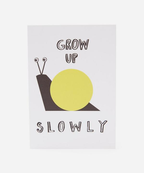 Karin Akesson - Grow Up Slowly Card