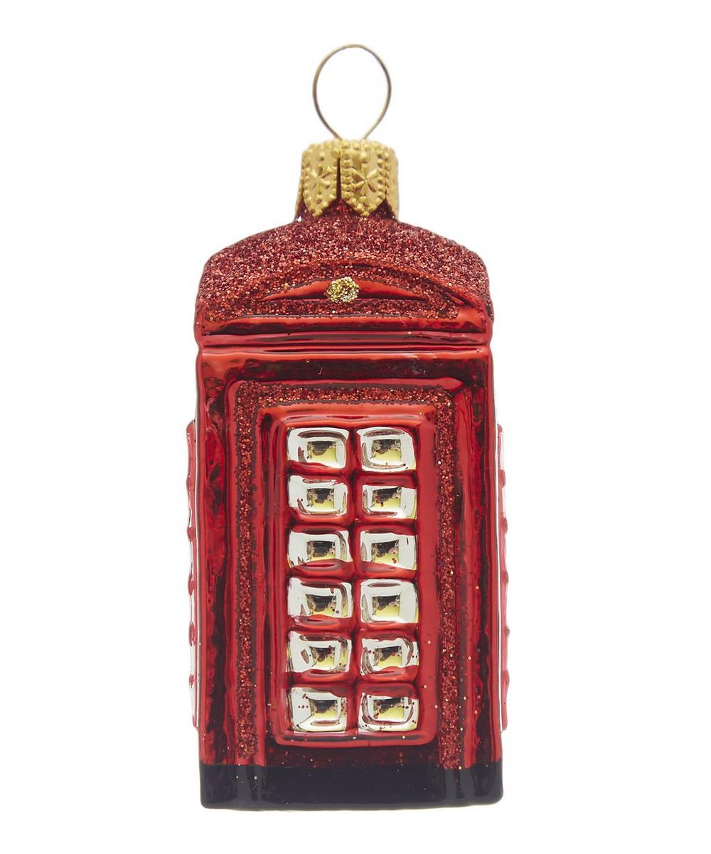Red Telephone Box Decoration