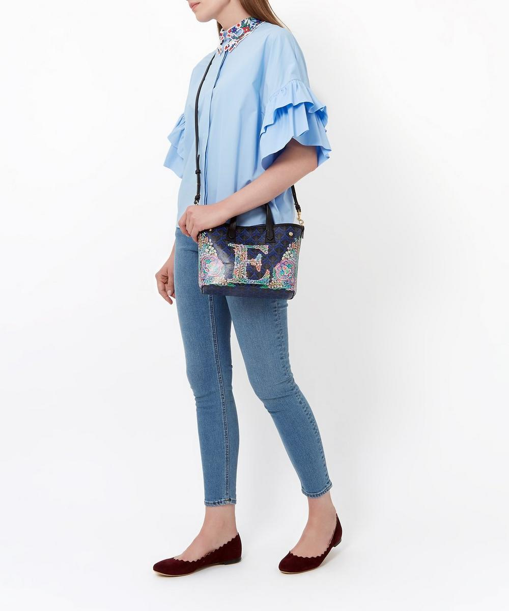 Mini Marlborough Tote Bag in O Print