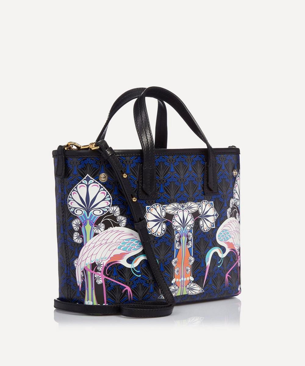 Mini Marlborough Tote Bag in T Print