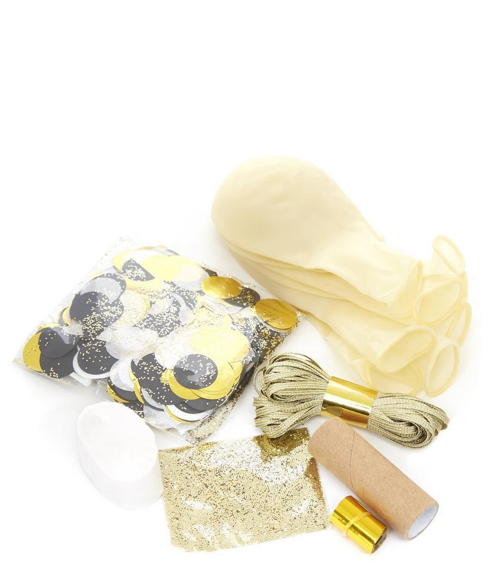 Metallic Confetti Balloon Kit