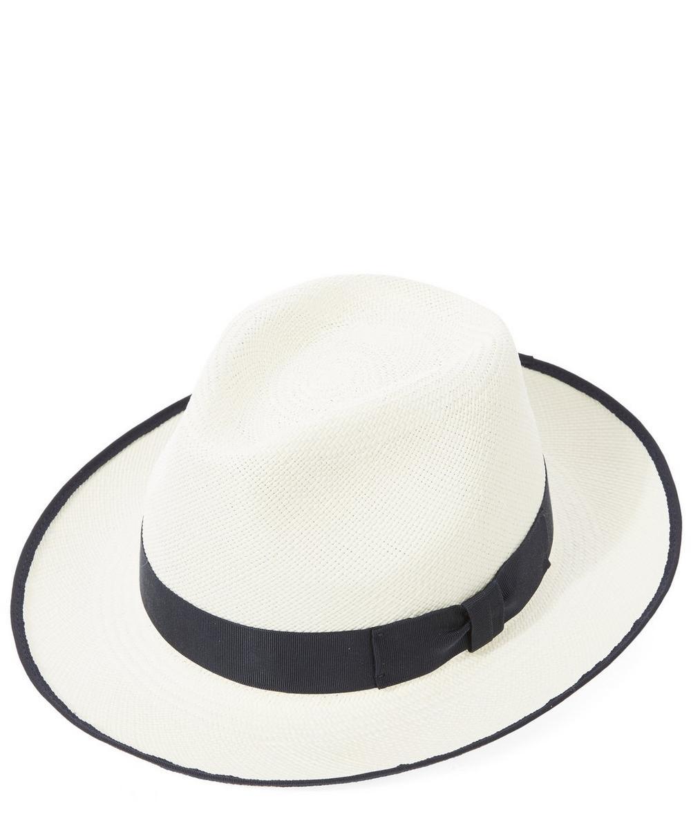 CLASSIC PRESET PANAMA HAT