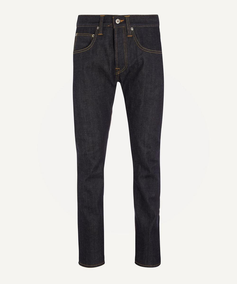 Edwin - ED55 Red Selvedge Unwashed Jeans