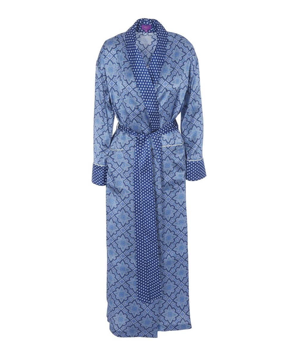 Indiana Long Silk Robe