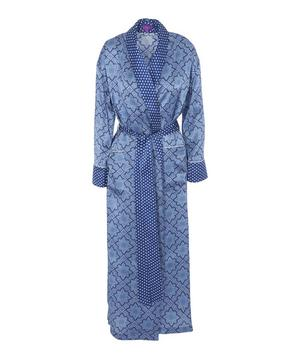 Indiana Long Silk Robe