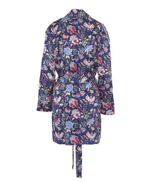 Christelle Short Silk Robe