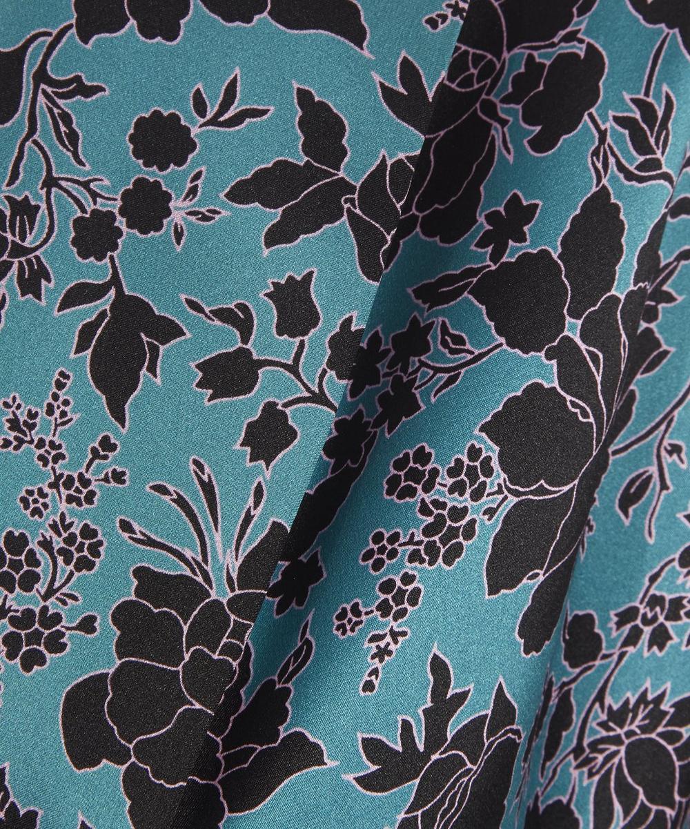 Christelle Long Silk Robe