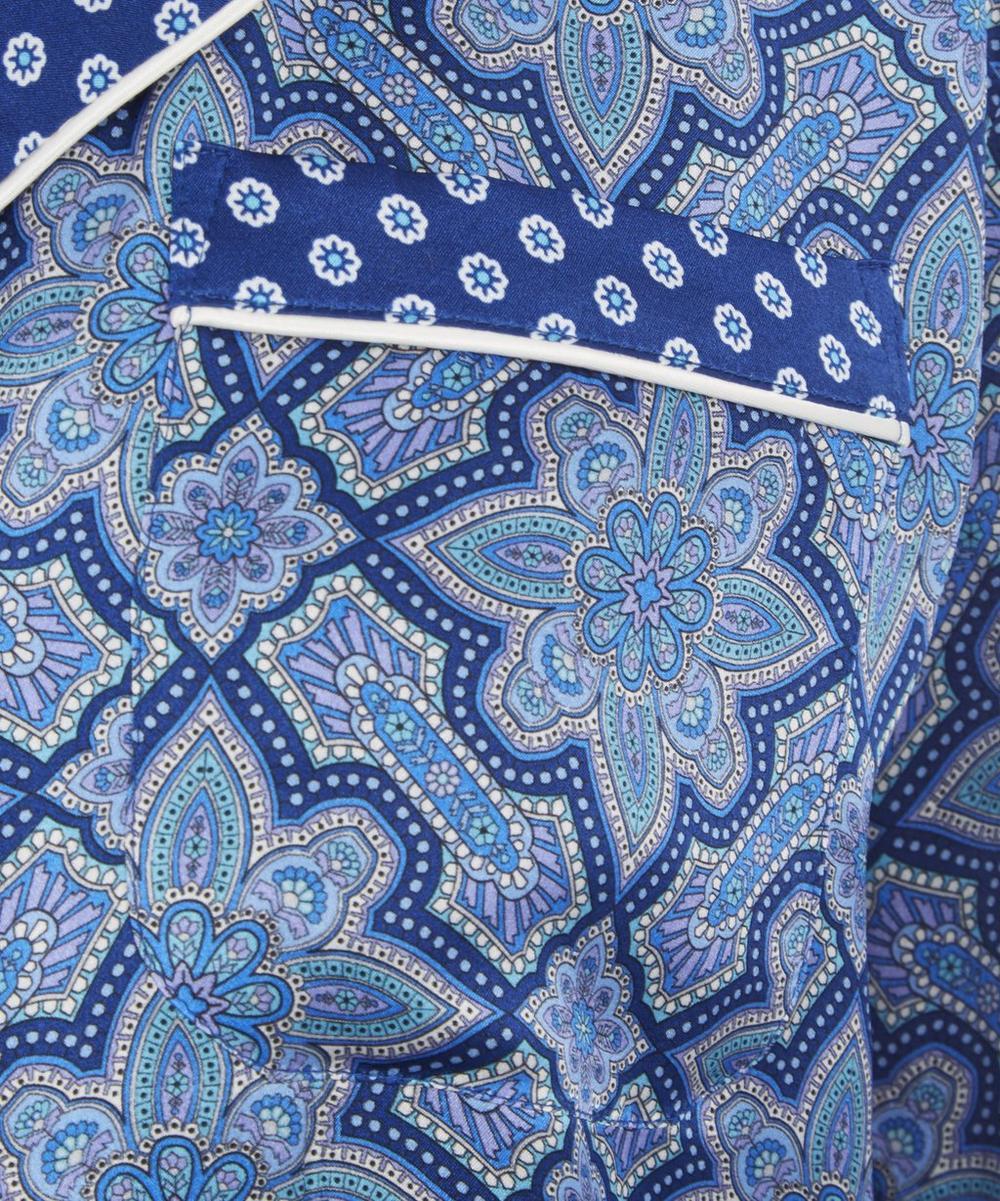 Indiana Long Silk Pyjama Set