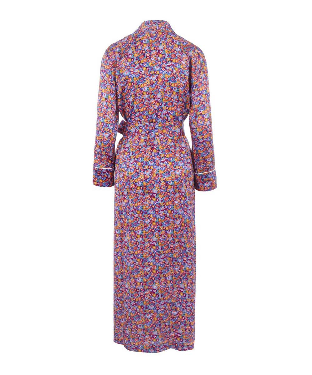 Carolina Long Silk Robe