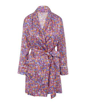 Carolina Short Silk Robe