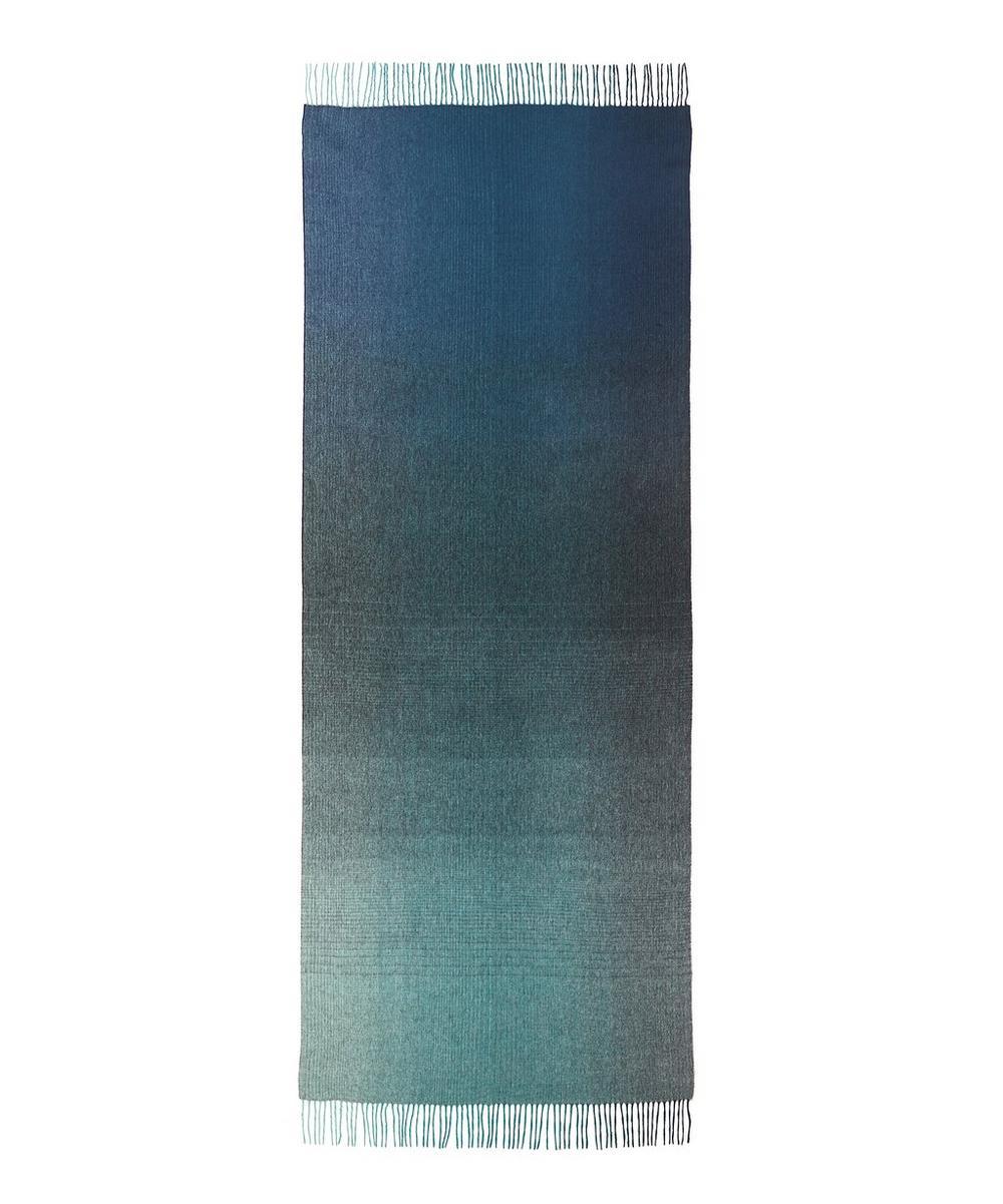Diagonal Ombré Cashmere-Blend Scarf
