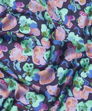 Lily Pad Clemments Hammered Satin